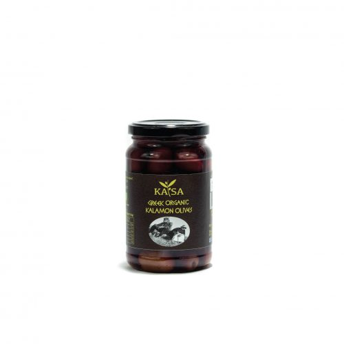 Greek Organic Kalamon Olives / ΚΑΤΣΑ Βιολογικές Καλαμών Ελιές 370g