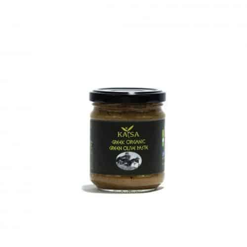 Greek Organic Green Olive Paste / ΚΑΤΣΑ Βιολογική Πράσινη Πάστα Ελιάς 195g
