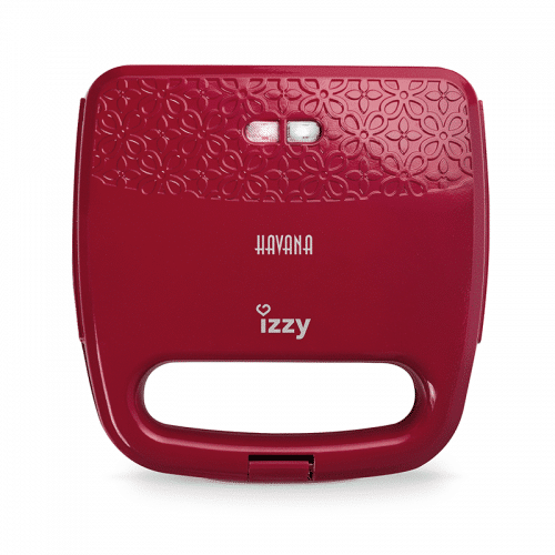 Izzy Sandwich Maker Havana red / Σαντουϊτσιέρα