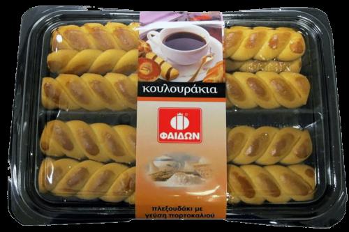 Faidon Koulourakia Orange Twist / Φαίδων Κουλούρια Πλεξούδες Πορτοκάλι 350g