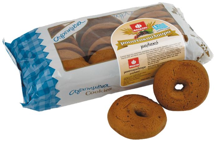 Faidon Grape Must Biscuits (Moustokouloura) / Φαίδων Μουστοκούλουρα 400g