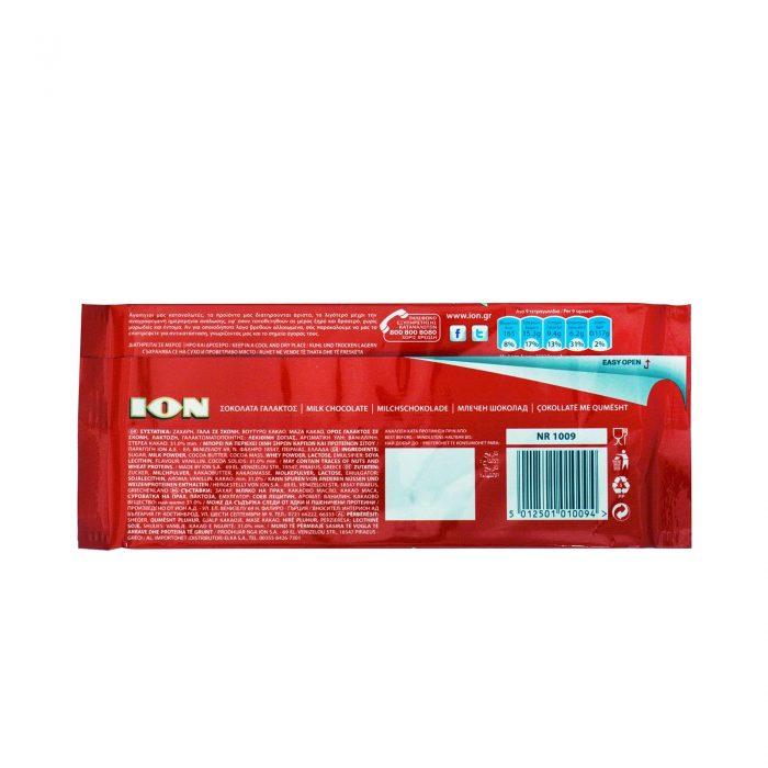 Ion Milk Chocolate / Σοκολάτα Γάλακτος 100g