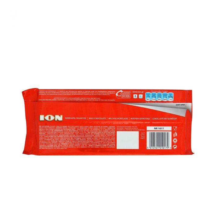 Ion Milk Chocolate / Σοκολάτα Γάλακτος 200g