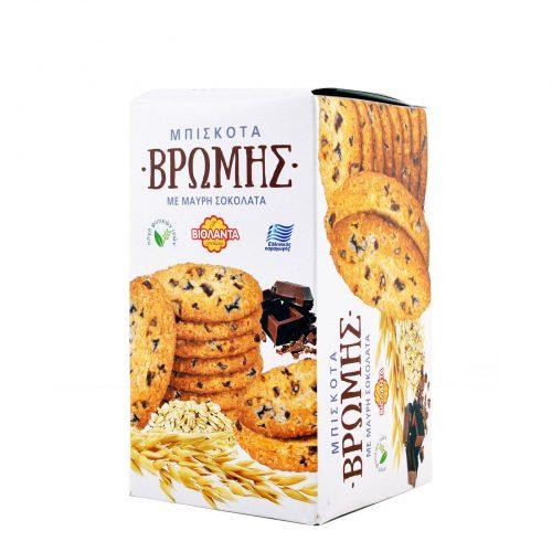 Violanta Biscuits with Oats & Black Chocolate / Βιολάντα Μπισκότα Βρώμης με Μαύρη Σοκολάτα 200g