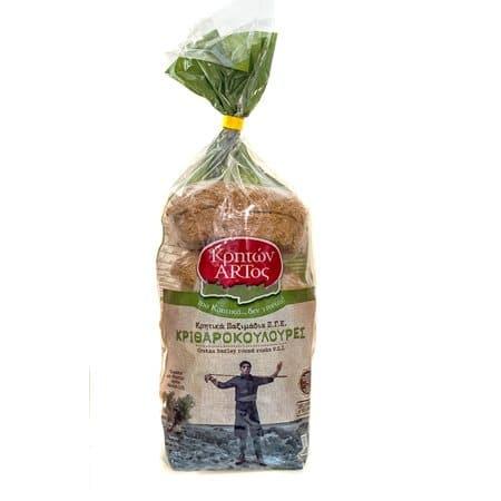 Kriton Artos Barley buns / Κρητών Άρτος Κριθαροκουλούρες 600g