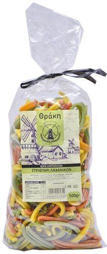 Thraki Pasta with vegetables / Στριφτάρι Λαχανικών 500g