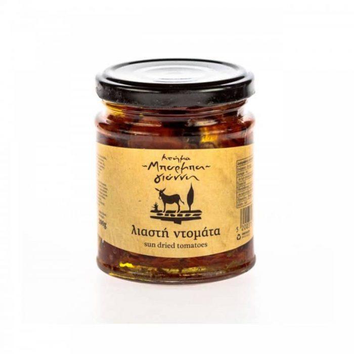 Barba Giannis Sun-Dried Tomatoes (Liastes Ntomates) / Μπάρμπα Γιάννη Λιαστή Ντομάτα σε λάδι 200g