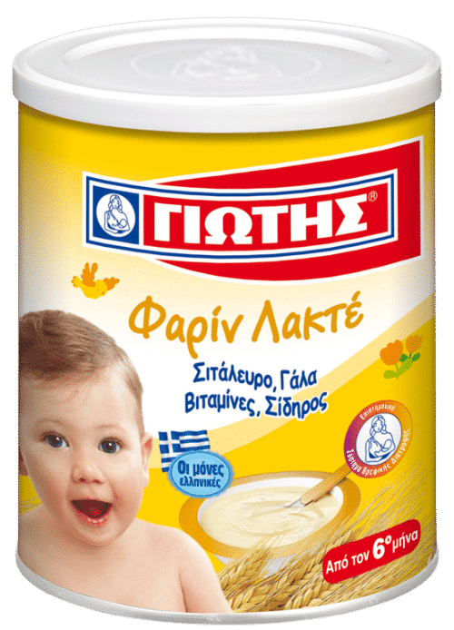 Jotis Farine Lactee (Wheat Cereal with Milk) / Κρέμα παιδική Φαρίν Λακτέ 300g