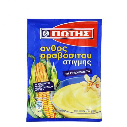 Jotis Pudding Vanilla / Γιώτης Άνθος Αραβοσίτου Στιγμής Βανίλια 62g