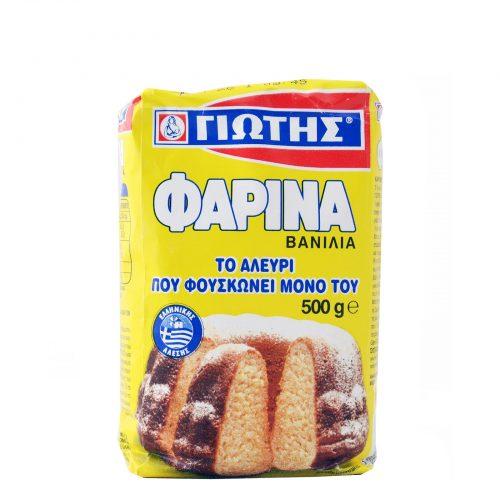 Jotis Farina, Vanilla / Γιώτης Φαρίνα Βανίλια 500 g