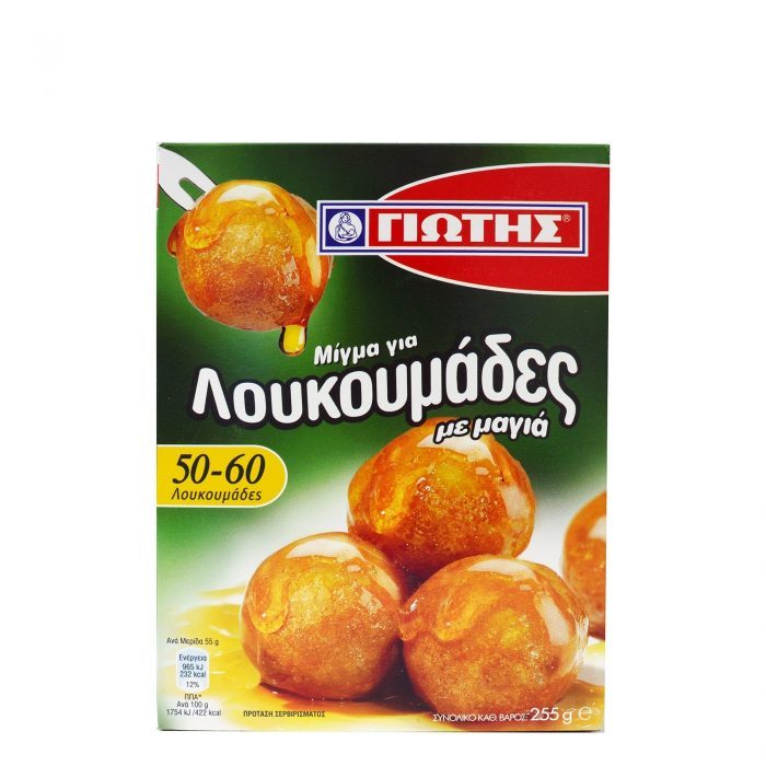 Jotis Loukoumades Dumpling Mix / Γιώτης Μίγμα για Λουκουμάδες 250g