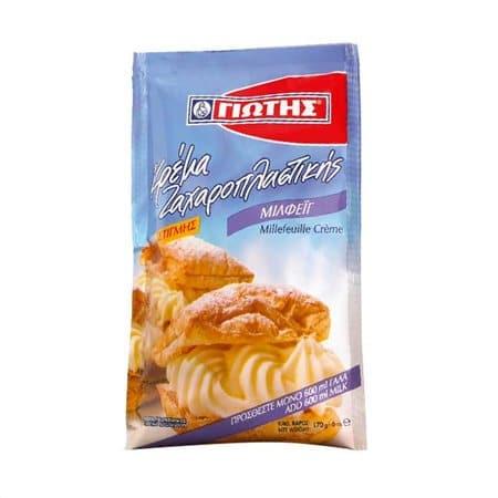 Jotis Crème Patisserie Millefeuille / Κρέμα Ζαχαροπλαστικής Μιλφέιγ 170g