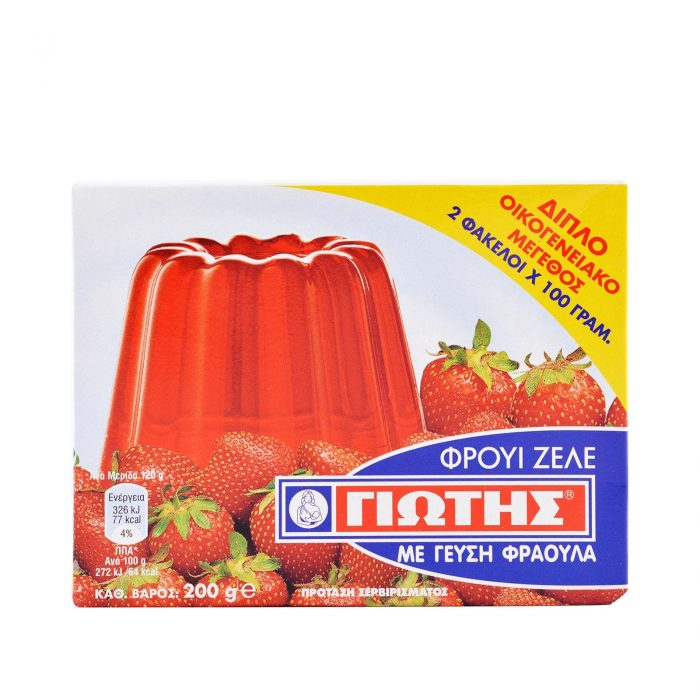 Jotis Jelly Crystals Strawberry 2x100g