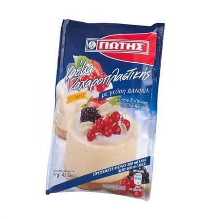 Jotis Crème Patisserie Vanilla / Κρέμα Ζαχαροπλαστικής Βανίλια 117g