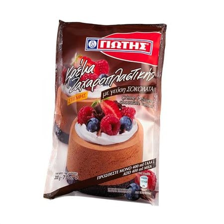Jotis Crème Patisserie Chocolate / Κρέμα Ζαχαροπλαστικής Σοκολάτα 200g