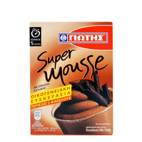 Jotis Super Mousse with Chocolate & Cocoa / Μείγμα για μους με Σοκολάτα και Κακάο 234g