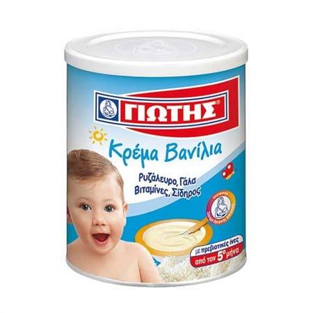 Jotis Vanilla Cream / Γιώτης Κρέμα Παιδική Βανίλια 300g