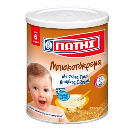 Jotis Biscuit Cream / Γιώτης Κρέμα Παιδική με μπισκότα 300g