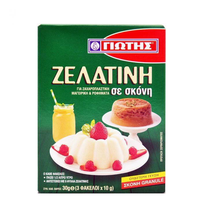 Jotis Gelatin / Γιώτης Ζελατίνη 3x10g