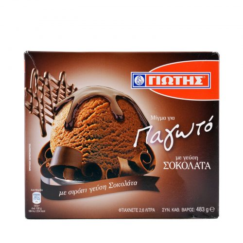 Jotis Ice-Cream Mix Chocolate / Γιώτης Μίγμα για Παγωτό Σοκολάτα 483g