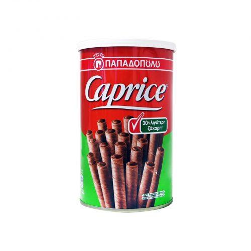 Papadopoulou Caprice 30% Less Sugar / Παπαδοπούλου Πουράκια Σοκολάτα 30% Λιγότερη Ζάχαρη 250g
