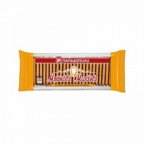 Papadopoulou Miranda Whole Wheat Flour Biscuits / Παπαδοπούλου Μιράντα Μπισκότα Ολικής Άλεσης 270g