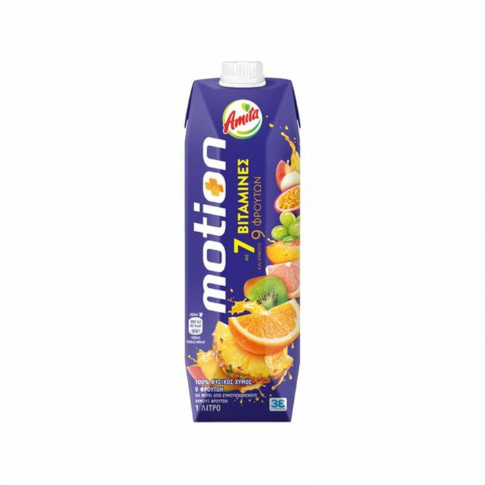 Amita Juice Motion / Φυσικός Χυμός 1L