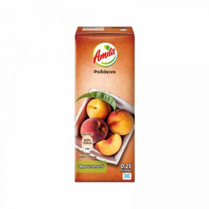 Amita Juice Peach / Ροδάκινο 250ml