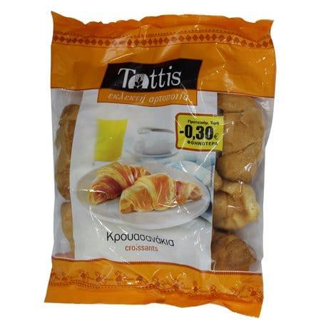 Tottis Mini Croissants / Τόττης Κρουασανάκια 260g