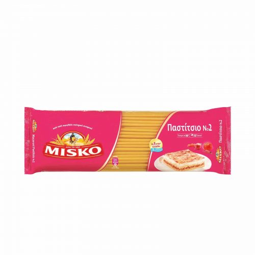 Misko Greek Makaroni for Pastitsio / Μακαρόνια για Παστίτσιο No2 500g