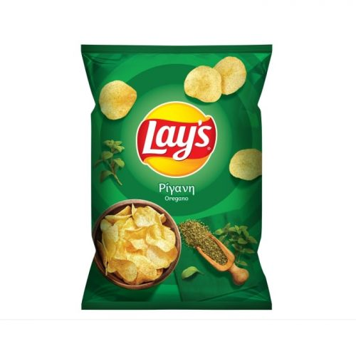 Lays Chips with Oregano / Τσίπς με ρίγανη 90g