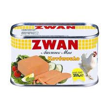 Zwan Luncheon Chicken Meat / Κοτόπουλο σε κονσέρβα 200g