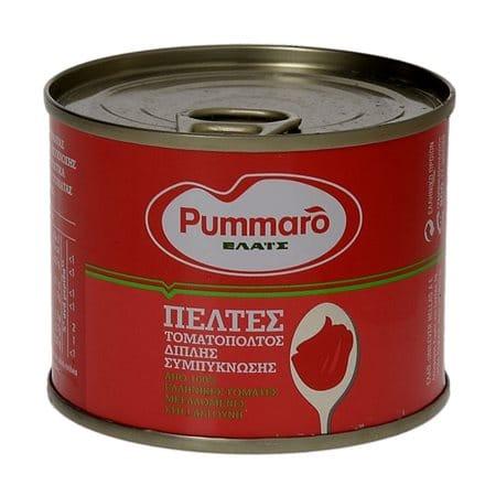 Pummaro Tomato Paste Double Concentrated / Τοματοπολτός Διπλής Συμπύκνωσης 200g