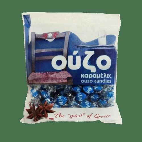 Tulip Ouzo Flavoured Candies / Καραμέλες Ούζο 400g