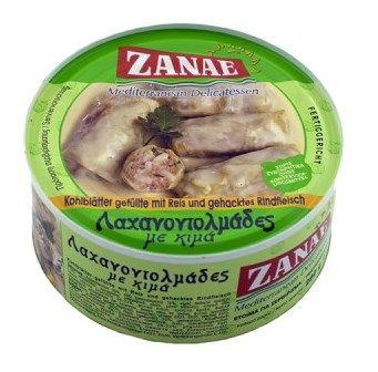 Zanae Cabbage Roll with Minced Meat / Λαχανοντολμάδες με Κιμά 280g