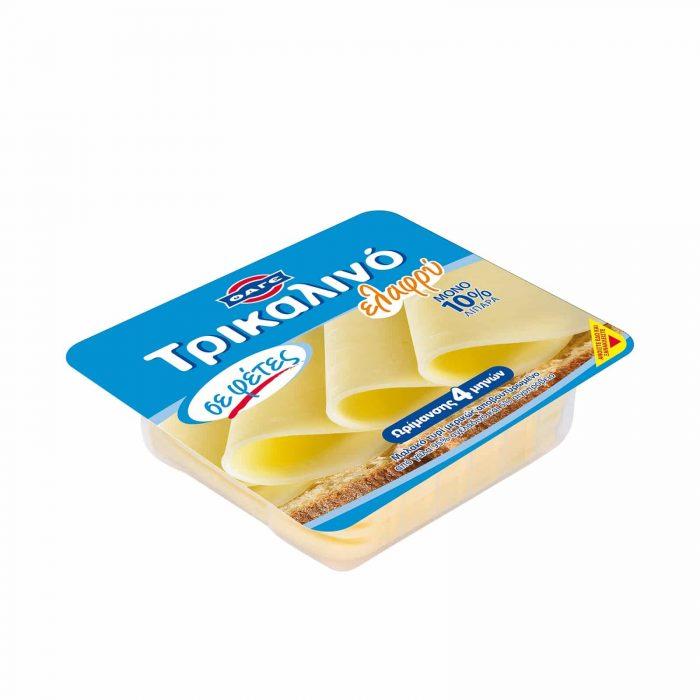 FAGE Sliced light Trikalino cheese / ΦΑΓΕ Τυρί Τρικαλινό Ελαφρύ σε Φέτες 200g