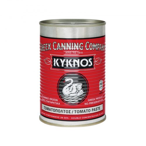Kyknos Tomato Paste Double Concentrated / Κύκνος Τοματοπολτός Διπλής Συμπύκνωσης 410g