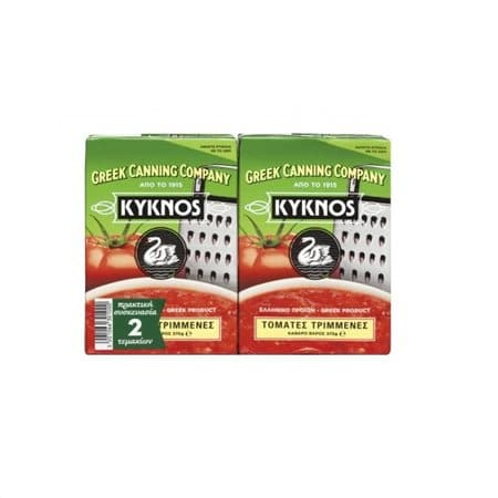 Kyknos Crushed tomatoes / Τριμμένες τομάτες 2x370ml