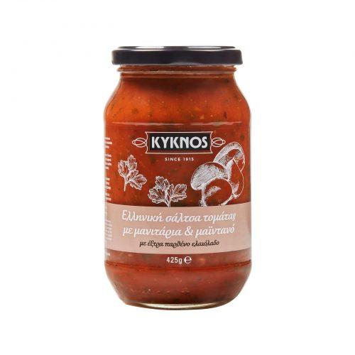 Kyknos Tomato Sauce with Μushrooms / Κύκνος Σάλτσα Τομάτας με Μανιτάρια 425g