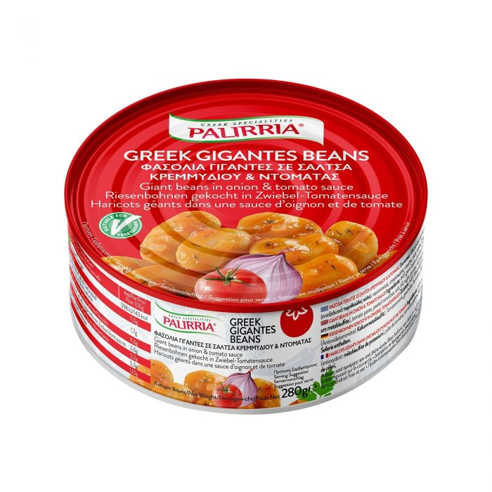 Palirria Baked Giant Beans with Tomato Souce / Παλίρροια Γίγαντες Γιαχνί 280g