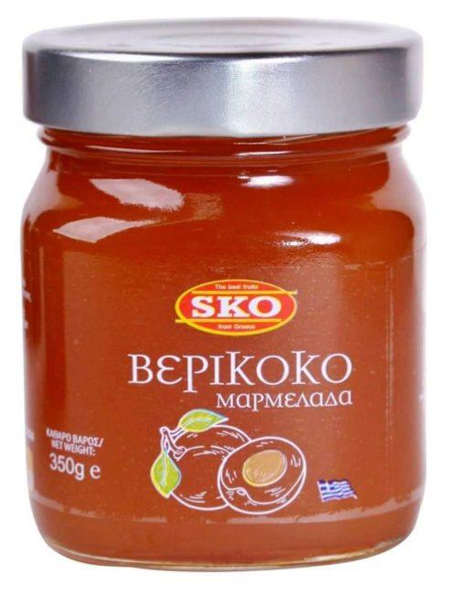 SKO Apricot Jam / Μαρμελάδα Βερίκοκο 350g