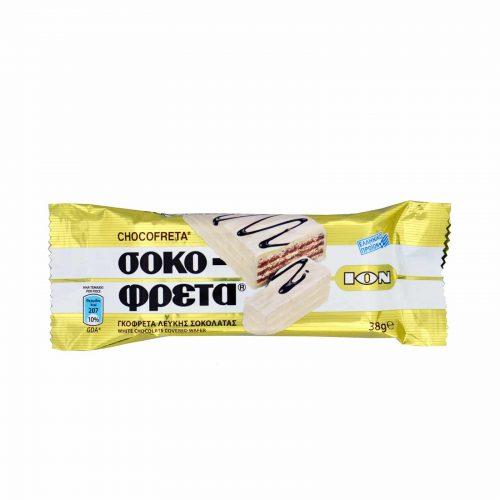Ion Sokofreta White Chocolate / Σοκοφρέτα Λευκής Σοκολάτας 38g