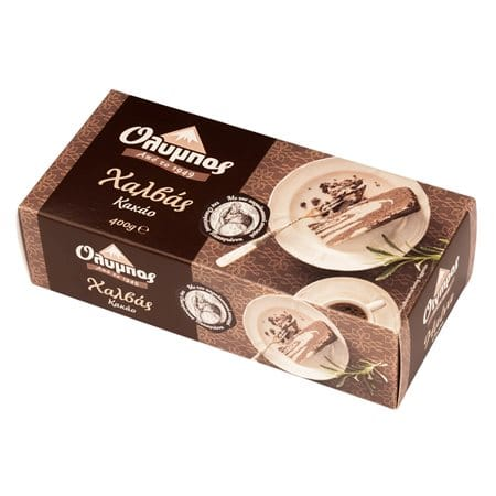 Olympos Halva Cocoa / Όλυμπος Χαλβάς Κακάο 400g