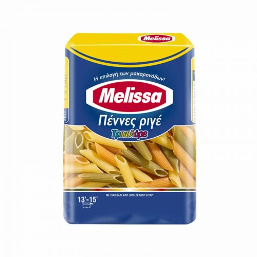 Melissa Penne Tricolore / Μέλισσα Πέννες Τρικολόρε 500g