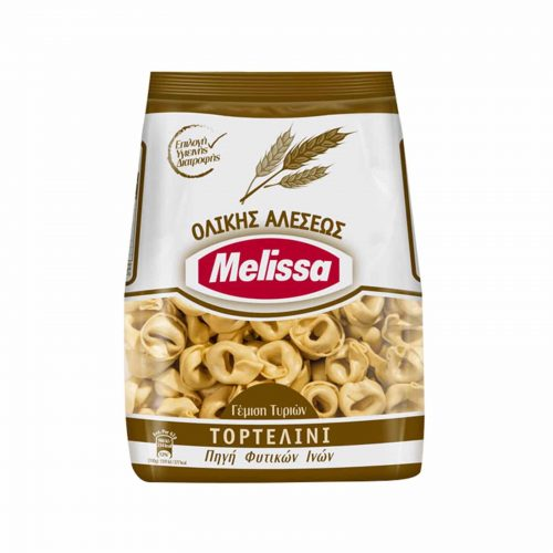 Melissa Whole Wheat Tortellini / Πάστα Ζυμαρικών Ολικής Αλέσεως Τορτελίνι Γέμιση Τυριών 250g