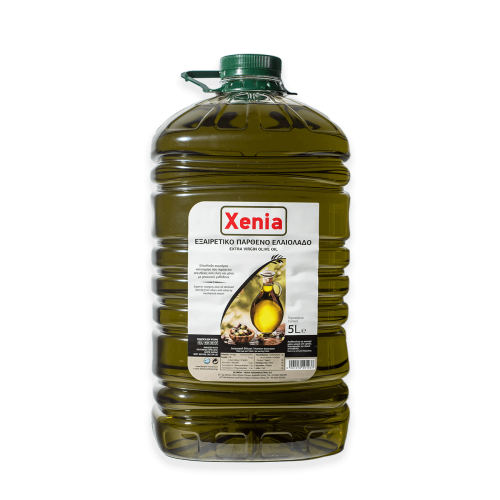 Xenia extra virgin olive oil / Εξαιρετικό Παρθένο Ελαιόλαδο 5L