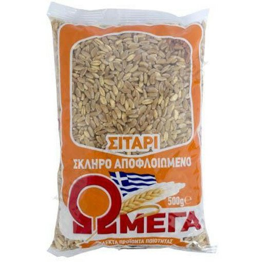Omega Wheat Peeled / ΩΜΕΓΑ Σιτάρι Αποφλοιωμένο 500g