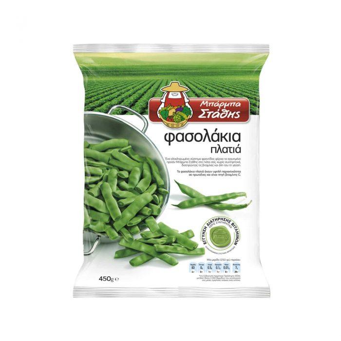 Barba Stathis Flat beans / Μπάρμπα Στάθης Φασολάκια Πλατιά 450g