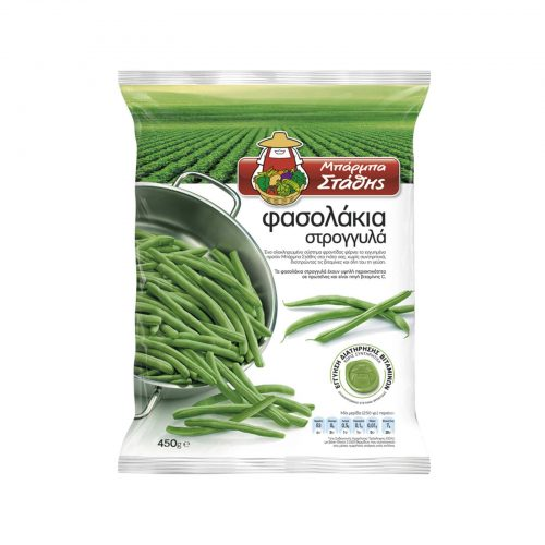 Barba Stathis Round Green beans / Μπάρμπα Στάθης Φασολάκια Στρογγυλά 450g