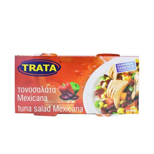 Trata Mexicana Tuna Salad / Τονοσαλάτα Μεξικάνα 2x160g